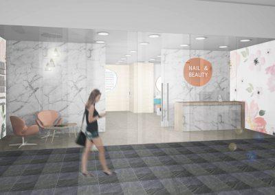 Nail and beauty interior design Perth 1
