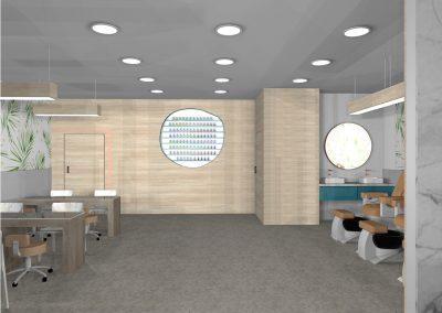 Nail and beauty interior design Perth 3