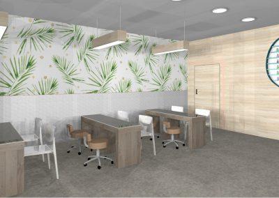Nail and beauty interior design Perth