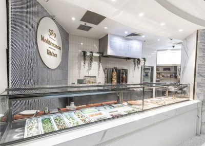 Mediterranean food hall design